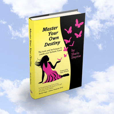 Sheila Steptoe Master Your Own Destiny Self Help Book